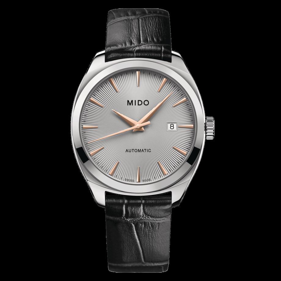 瑞士美度表布鲁纳系列雅致款长动能男士腕表