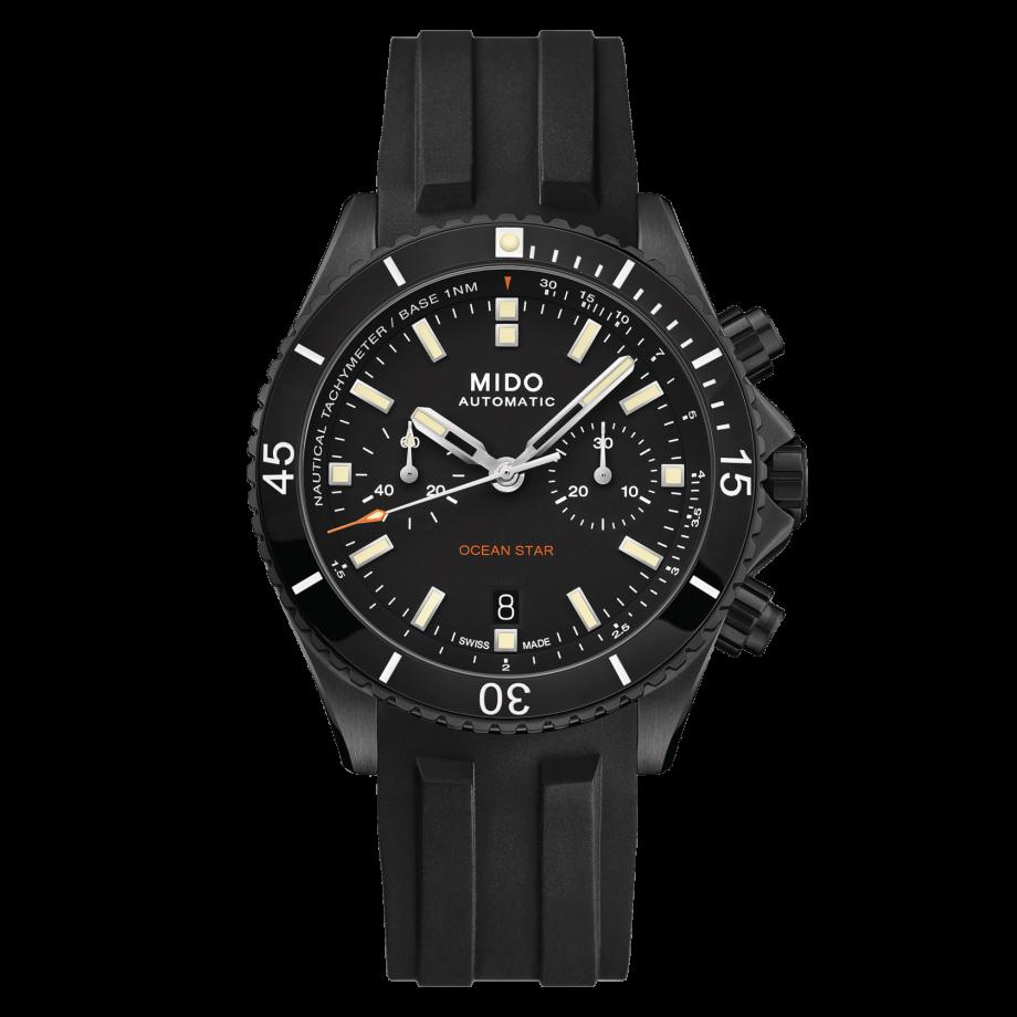瑞士美度表领航者系列多功能计时防水腕表