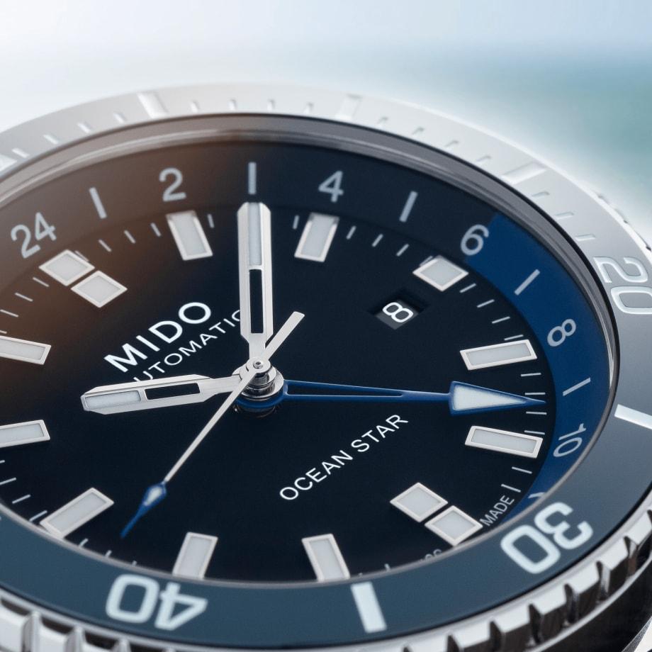 瑞士美度表领航者系列双时区防水腕表 - 查看 5