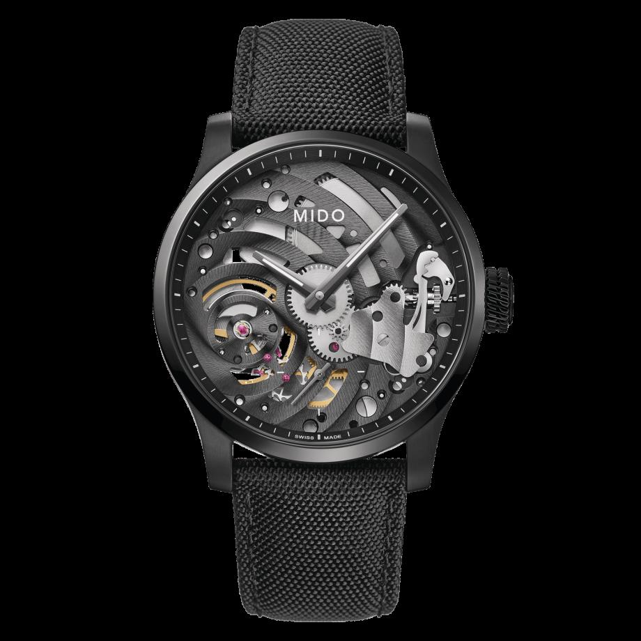 瑞士美度表舵手系列镂空限量款机械腕表