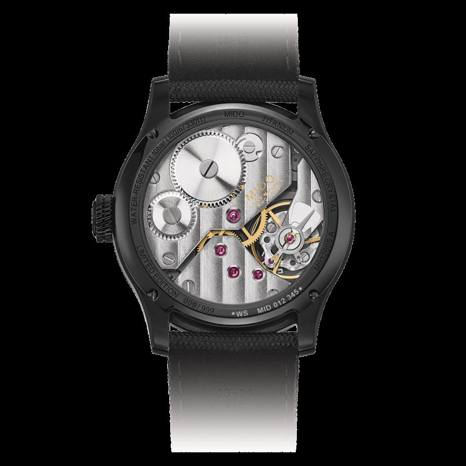 瑞士美度表舵手系列镂空限量款机械腕表 - 查看 1