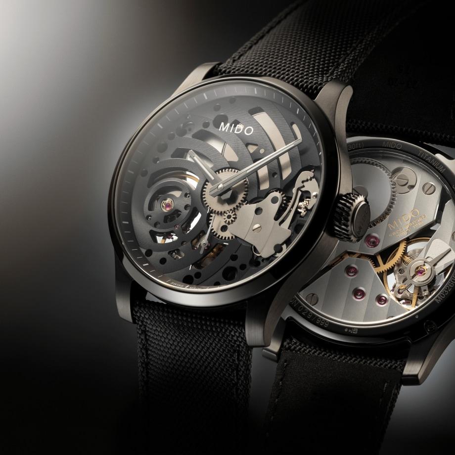 瑞士美度表舵手系列镂空限量款机械腕表 - 查看 3