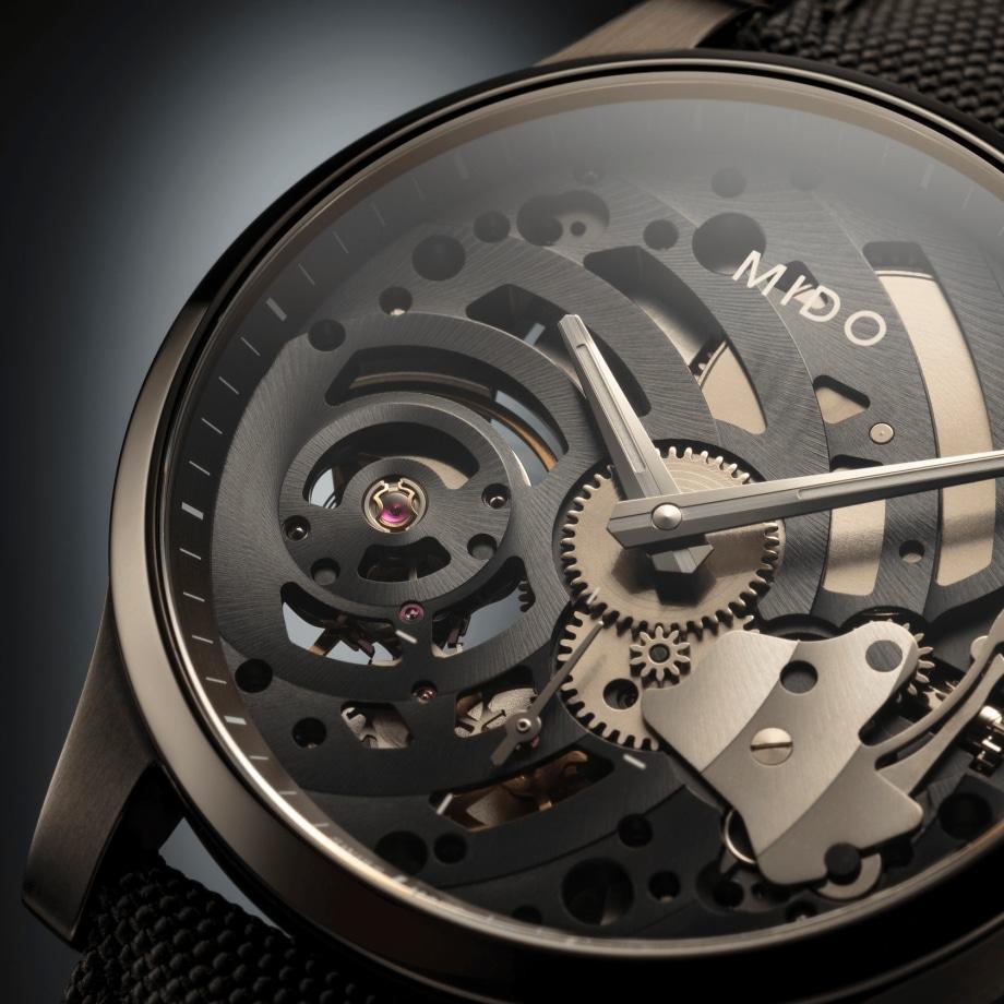 瑞士美度表舵手系列镂空限量款机械腕表 - 查看 4