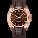 布鲁纳系列绅士款长动能全自动机械腕表